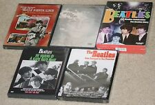 The Beatles-5 DVD lot.Celebration/Diary.GimmeSomeTruth.GeorgeinIL.Liverpool2SF.