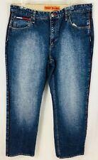 Vintage TOMMY HILFIGER Flag Jeans Men's 36x32 with Stripe