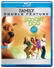 Blu Ray SCOOBY DOO 1 & 2 Monsters Unleashed. Region free. New sealed.