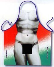 Michelangelo's David funny sexy men apron men's unique gifts BBQ Polyester ITATI