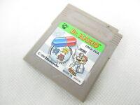 Nintendo Game boy DR.MARIO Japanese Cartridge Only Game gbc