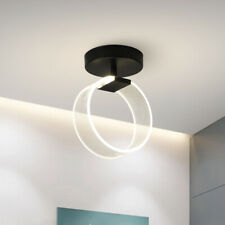 Circle 10W LED Ceiling Light Fixture Indoor Lamp Surface Mounted Bedroom Hallway