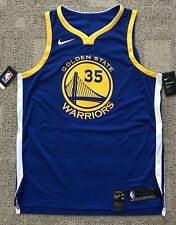 Nike Areoswift Mens Basketball Jersey Golden State Warriors #35 Durant Sz 56 2XL