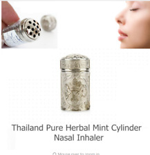 Allergic Rhinitis Herbal Mint Sinusitis Nasal Congestion Anti Fatigue Inhaler