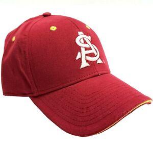 NCAA by Signature Arizona State Sun Devils Maroon Adjustable Strap-back Ball Cap
