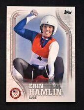 2018 Topps US Winter Olympics Base #US-27 Erin Hamlin