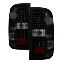 Xtune 9036552 LED Tail Lights Fits 2014-2018 Chevy Silverado