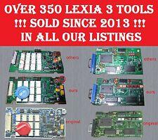 Real full chip lexia outil de diagnostic. dernier firmware diagbox 7.83 S1279 + 30pin