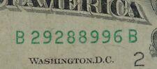 1988A $10 DISTRICT B 2 NEW YORK, NY OLD STYLE TEN DOLLAR BILL S#B29288996B FANCY