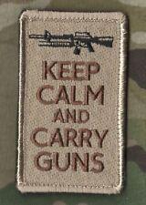 TALIZOMBIE© WHACKE KILLER ELIET USMC FORCE RECON SSI: Keep Calm 'n Carry a Gun