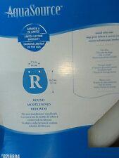 Nib Aquasource Toilet Seat White Padded 0218894