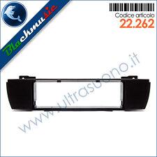 Mascherina supporto autoradio ISO Bmw X3 (E83 2003-2007) colore nero