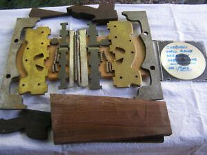 SHEPHERD –2 Spiers Style No.8 Brass Infill Shoulder Plane Kits