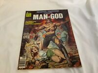 Curtis Marvel Preview Presents # 9 Man-God Magazine 1976
