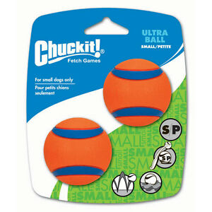 Chuckit Ultra ball Small 2 Pack Dog Ball
