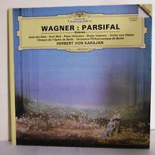 33T H. VON KARAJAN Vinyle LP WAGNER PARSIFAL ORCHESTRE CHOEURS OPERA BERLIN