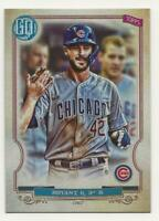2020 Topps Gypsy Queen KRIS BRYANT Jackie Robinson Day Image Variation SP #38