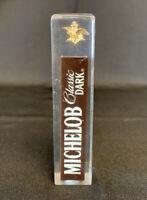 "Vintage Michelob Classic Dark Beer Tap Handle 4"""