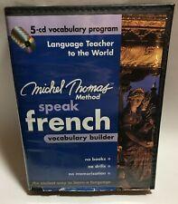 Michel Thomas Method Speak French 5-CD Vocabulary Builder