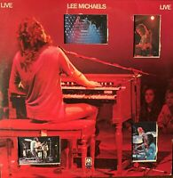 LEE MICHAELS:Pre-Owned LP**LEE MICHAELS LIVE**DOUBLE LP**RARELY PLAYED