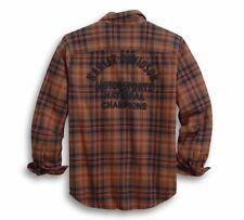 Harley-Davidson Men's Motorsports Plaid Shirt Slim Fit Shirt - 96011-20VM