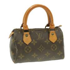 LOUIS VUITTON Monogram Mini Speedy Hand Bag Vintage M41534 LV Auth 14691