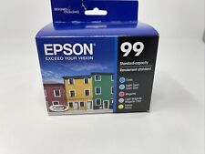 Epson 99 5 Color Pack Cyan Light Magenta Yellow Sealed EXP 2023/2024