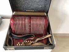 Akkordeon Knopfakkordeon Hohner Club III M  mit Koffer