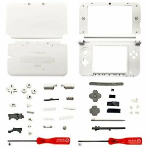 Housing Shell for 2015 Nintendo 3DS XL Replacement System Screen Tools White