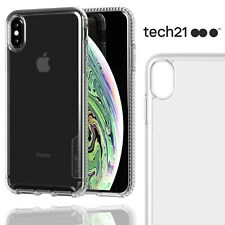Tech21 Apple iPhone XS Max Pure Clear Case Ultra Thin Shockproof Cover Tough