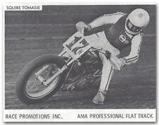 1971 AMA DISTRICT 27 MOTORCYCLE FLATTRACK TT RACING PROGRAM SQUIRE TOMASIE &MORE