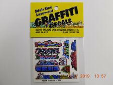 BLAIR LINE LASER CUT GRAFFITI DECALS N SCALE #1263 SET # 14