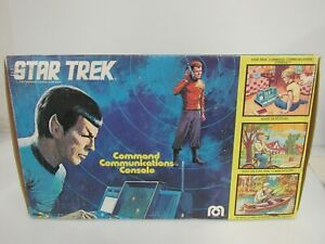 Vintage 1976 Mego Star Trek Command Communications Console MIB Sealed Bag BT067