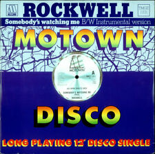 """Rockwell Somebody's Watching Me UK 12"""" vinyl single record (Maxi) TMGT1331"""