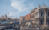 """perfect 36x24 oil painting handpainted on canvas""""Venice""""N15693"""