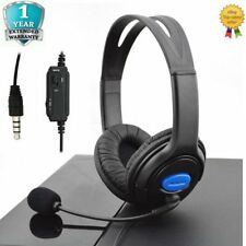 3.5mm Gaming Headset MIC Stereo Headphones for PC Mac Laptop PS4 PS3 Xbox One FK