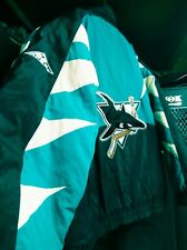 Proline Apex One Sharkstooth San Jose Sharks NHL Starter Jacket Coat Parka