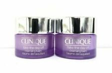 2 x Clinique Take The Day Off Cleansing Balm -   15ml  each Travel Size Pots