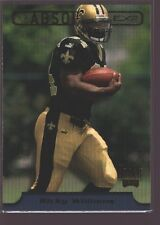 RICKY WILLIAMS 1999 PLAYOFF ABSOLUTE ROOKIE CARD MINT RC TEXAS SAINTS
