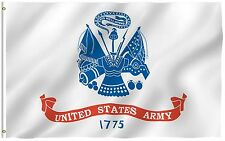 2x3 US Army 1775 Flag 2'x3' Banner nylon poly Grommets