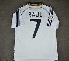 raul real madrid home 2000 classic retro soccer jersey football shirt vintage