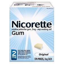 NICORETTE Gum 2mg Original Flavor 170pcs exp 03/2020