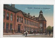 Enschede Hoogerburger en Handelsschool Netherlands Vintage Postcard 404b