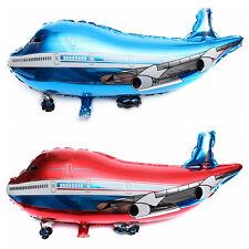 "31"" Flying Plane Shape Balloon Airplane Foil Helium Balloon Xmas Party Decor F&R"