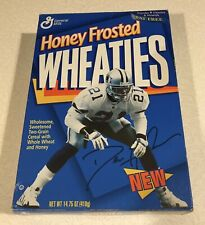 Honey Frosted Wheaties Deion Sanders Cereal Box Full Unopened 1996