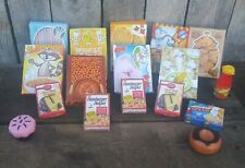 Lot Pretend Play Food Box Cake Mix Toy Play Fake Hamburger Helper Cereal Cookies
