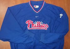 Nike MLB Philadelphia Phillies Baseball Weather Resistant Pullover Jacket XL NEW