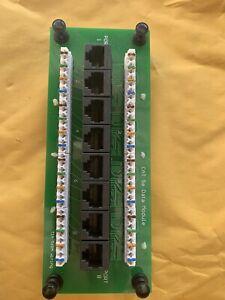 Data Com Data Module Board 8 Ports CAT 5e