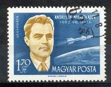 Hongarije - 1962 - Mi. 1877A (Ruimtevaart - misdruk) - Gestempeld - K4166