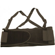 LARGE HEAVY LIFTING LUMBAR LOWER BACK SUPPORT BELT Brace Industrial Work